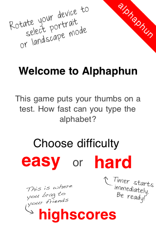 Screenshot Alphaphun