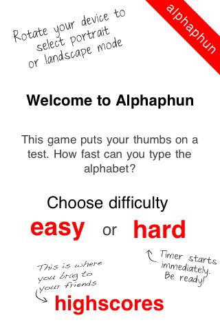 Screenshot Alphaphun